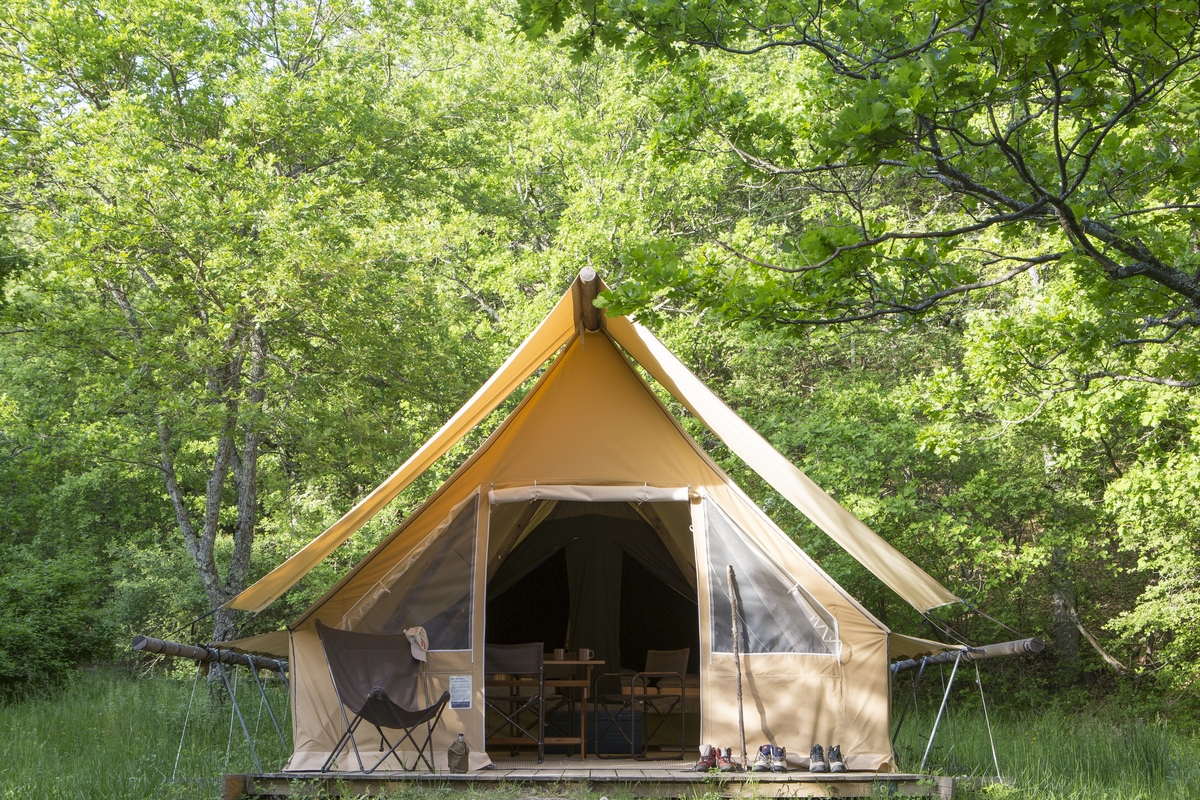 Nature campsites