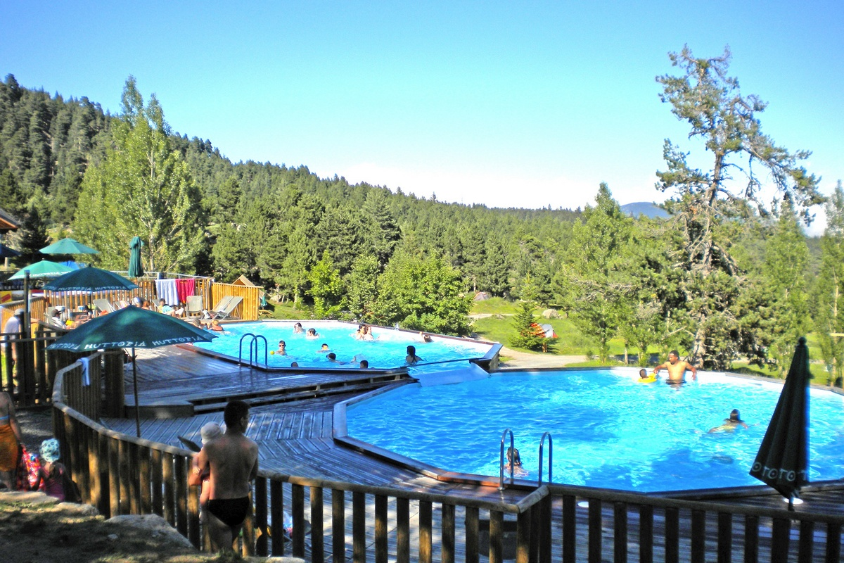 campsite in font romeu in the eastern pyrenees huttopia