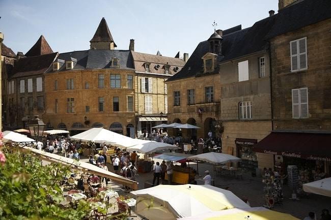 Sarlat im Département Dordogne