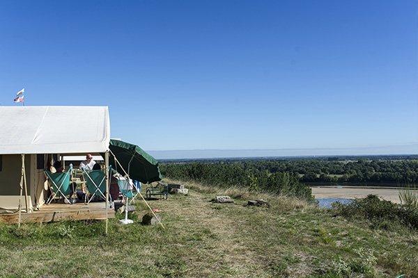 Classic 5 tent Loire view