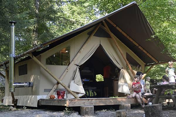 De Trappeur-tent