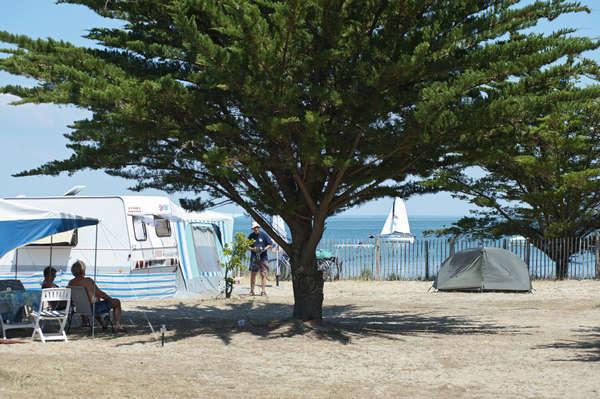Staanplaats aan de kust comfort