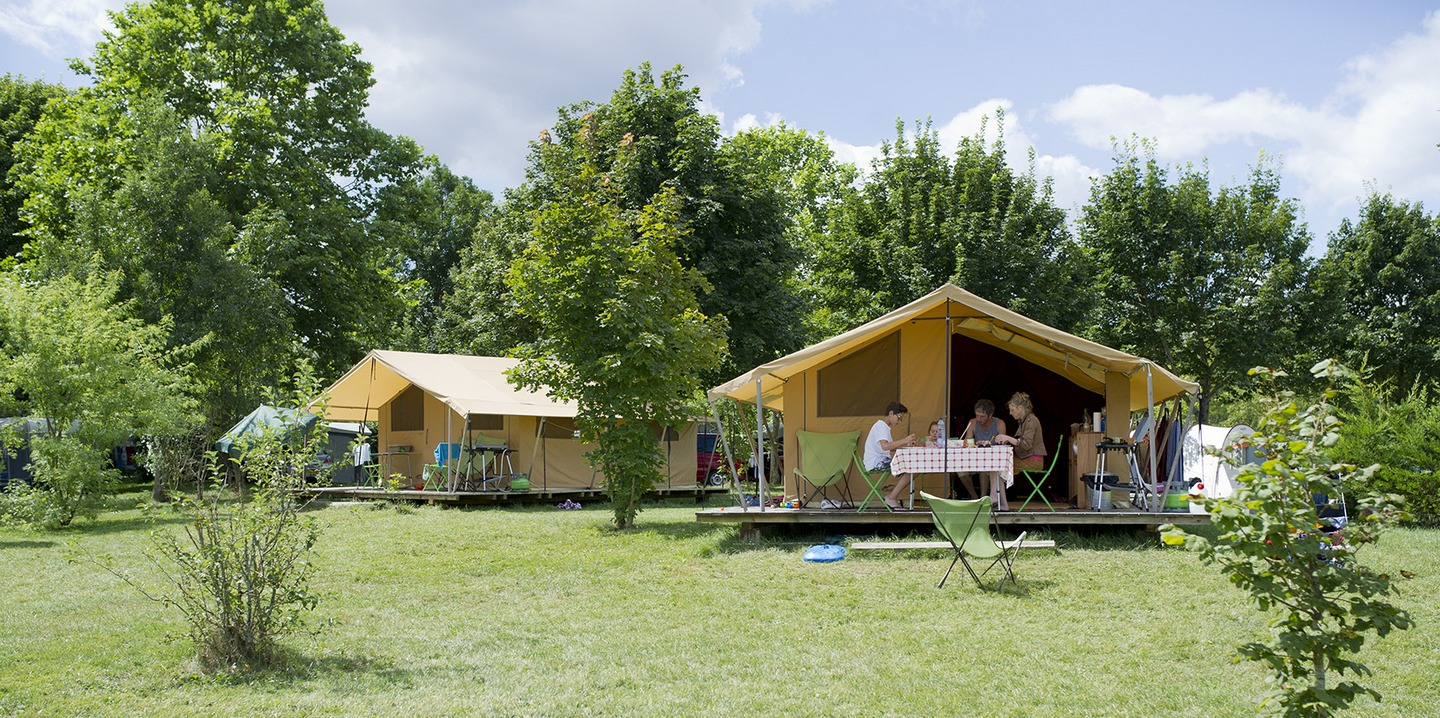 Accomodation on campsites