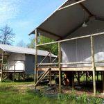 Tent-Lodge stelten