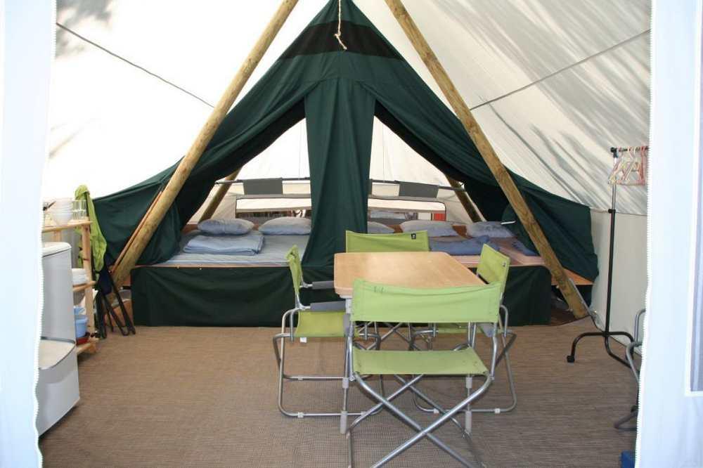 Tente Toile & Bois