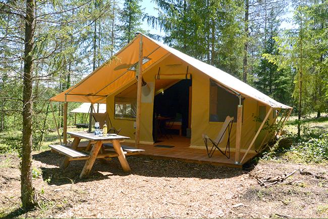 Les tentes Trappeur