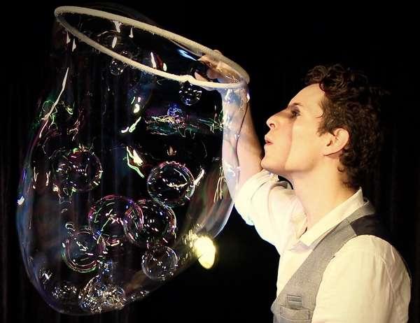 Faites de grosses bulles !