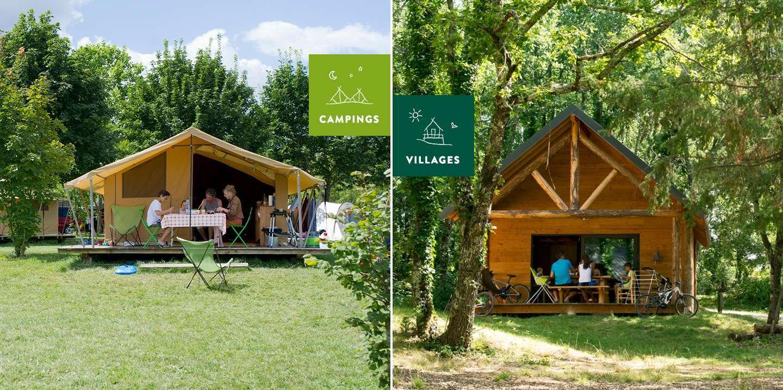 Hébergements camping ou village