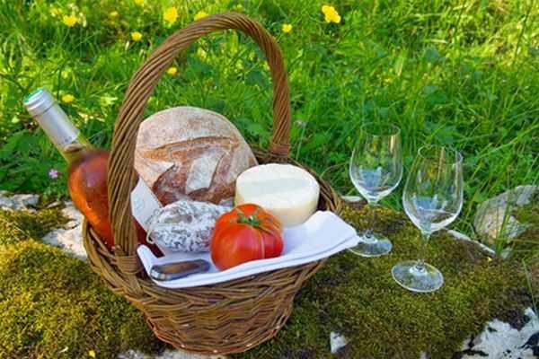De picknickmand