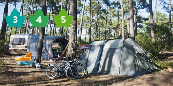 Discover our 33 campsites