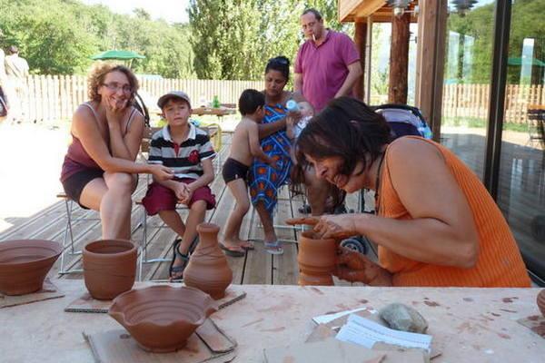 Fabrication de santons provençaux