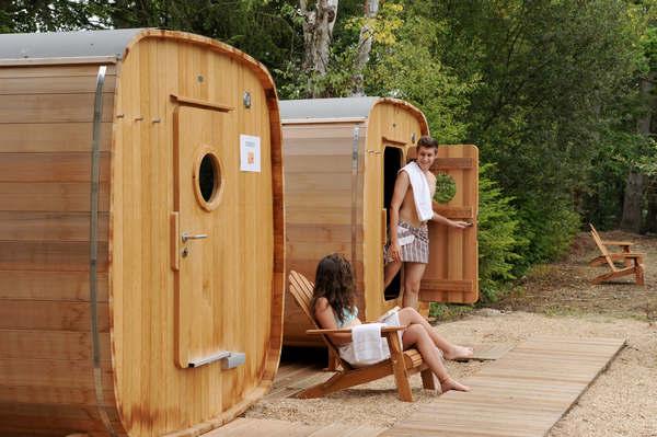 Un Sauna dans les bois