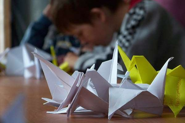 Origami ou vannerie