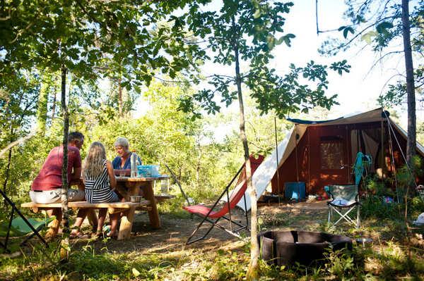 Retrouvez tous les plaisirs du camping