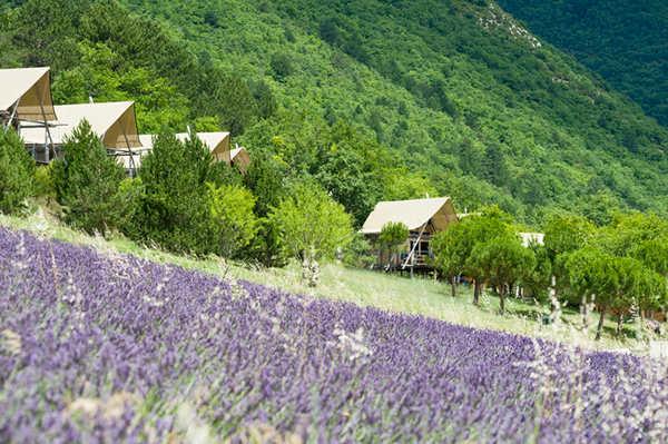 Villaggio Huttopia Dieulefit