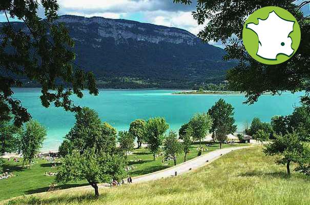 Campingplatz Le Sougey - Lac d'Aiguebelette