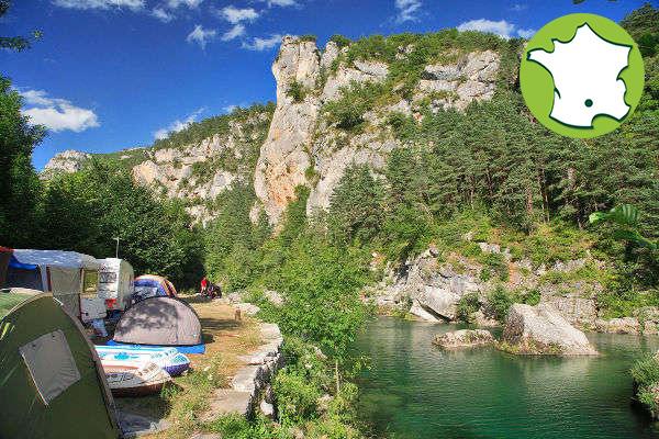 Campingplatz Le Beldoire - Gorges du Tarn