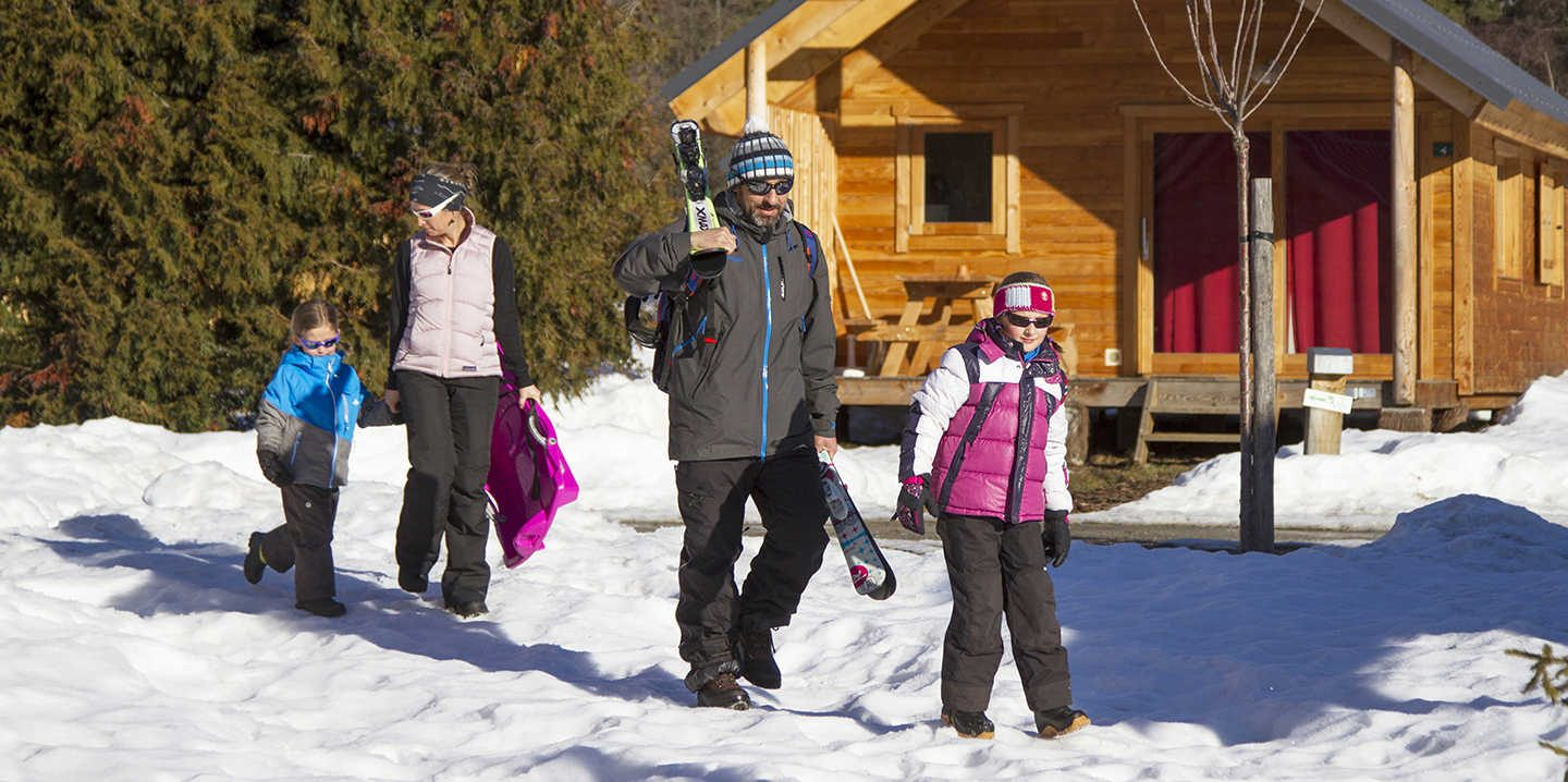 Winterurlaub in Chalets