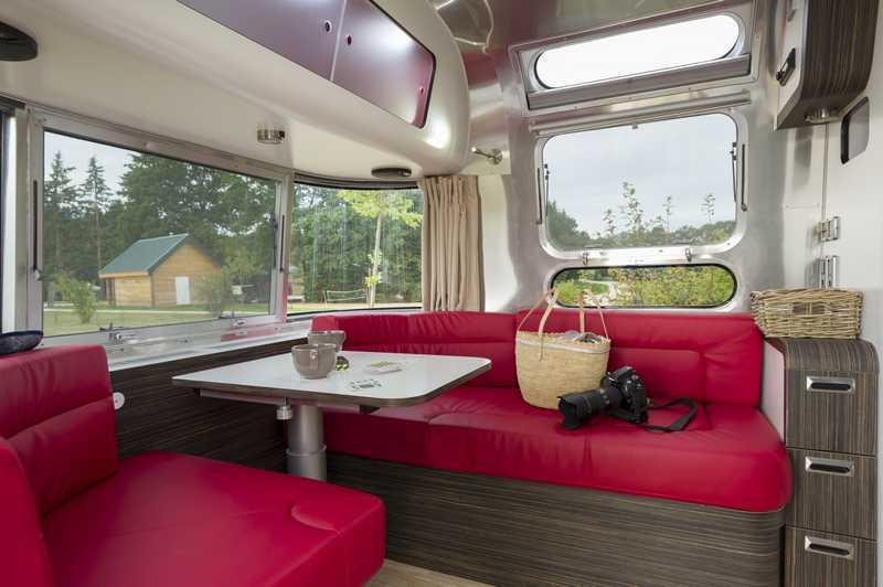 Wohnwagen Airstream