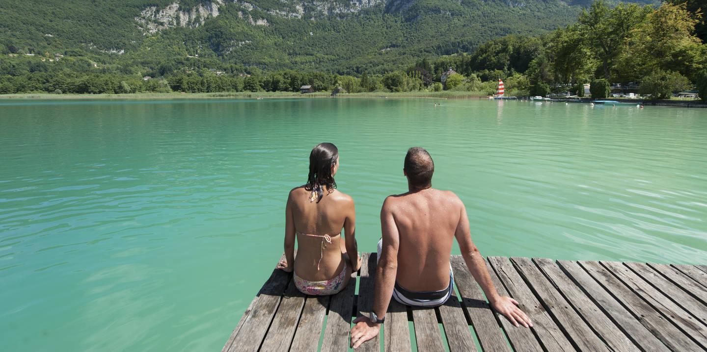 Ete Lac d'Aiguebelette