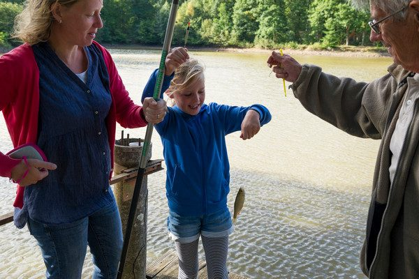Fishing taster session