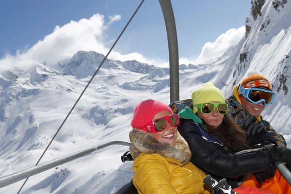 Skifahren in der Savoie
