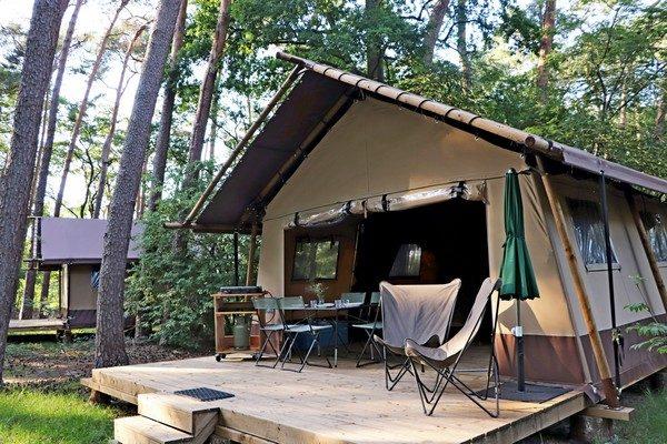 Classic Wood Tent