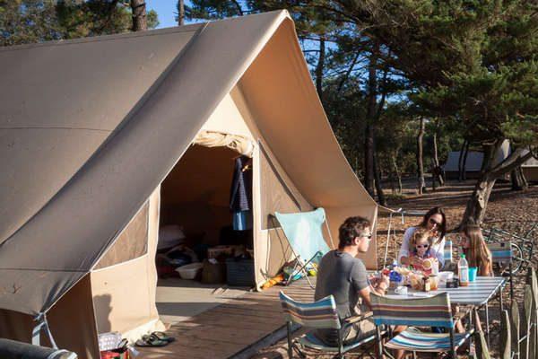 Toile & Bois tent