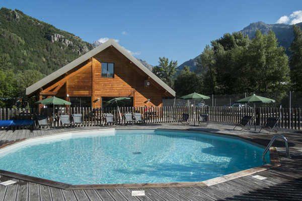 Verwarmd zwembad met uitzicht!