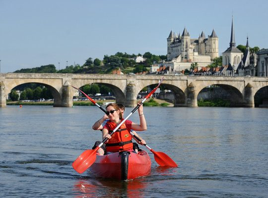 The Loire from the water...
