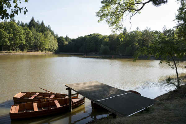 Het meer van Badouleau