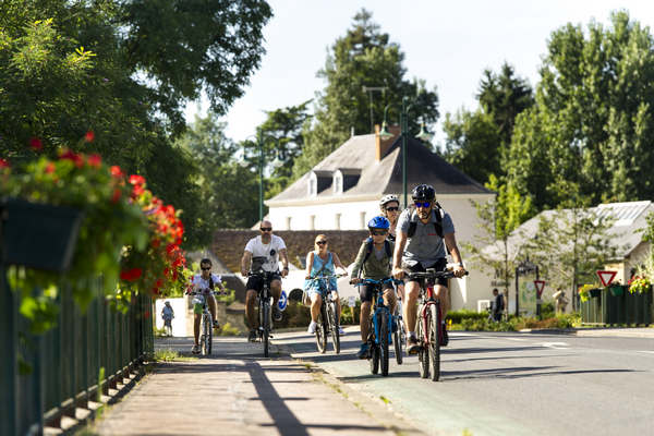 Standplaats voor wandelaars en fietsers
