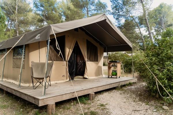 Sweet Tent met boszicht