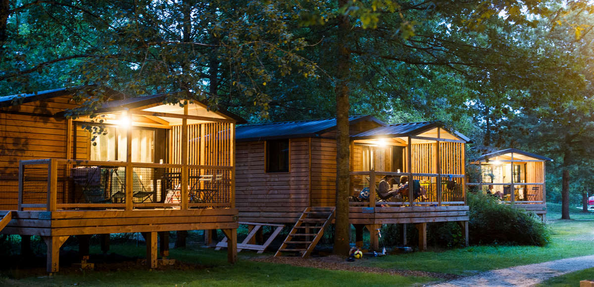 Accommodation on Campsite