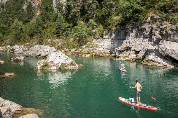 Paddle sur le Tarn
