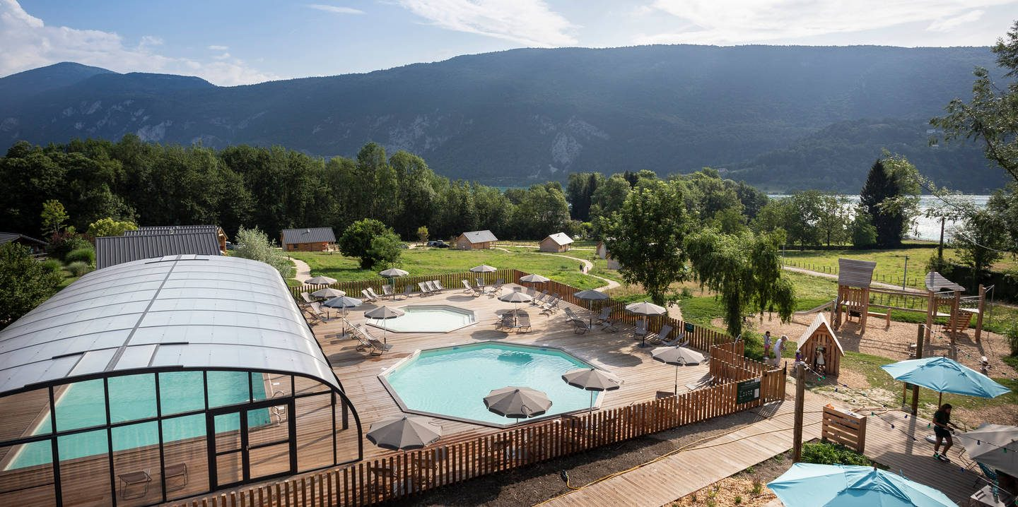 Campsite With Swimming Pool