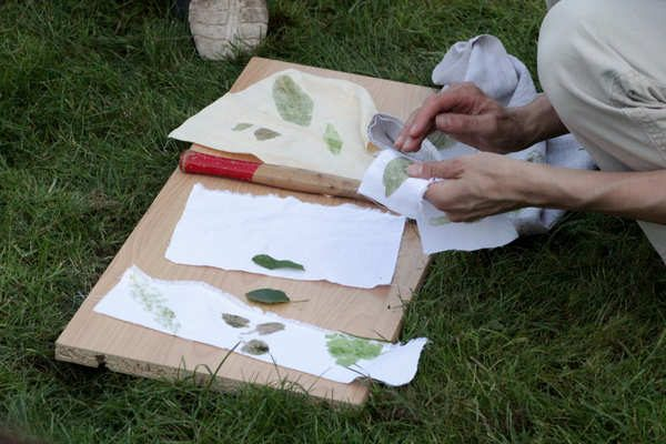 THE ART OF LEAF PRESSING WORKSHOP