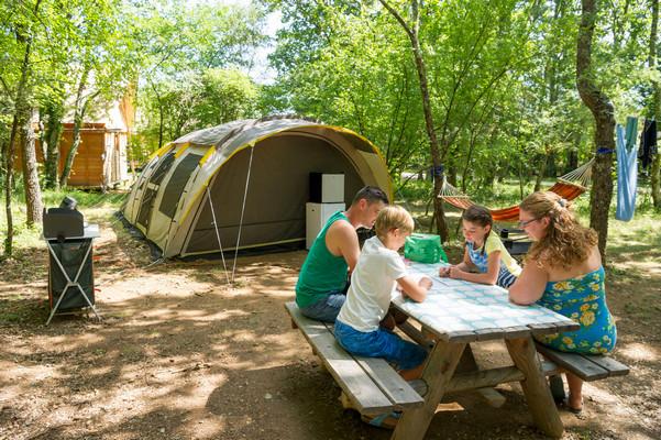 Comfort Plus kampeerplaatsen