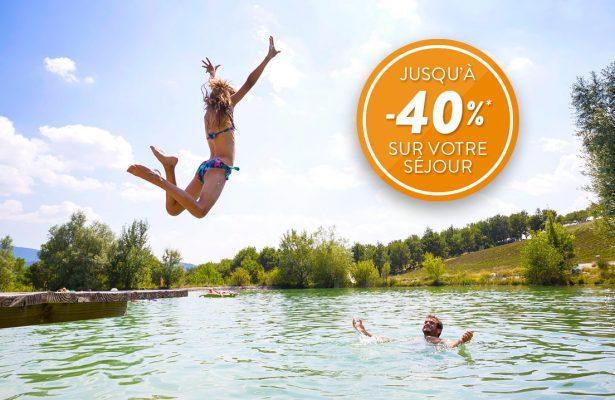 Jusqu'à -40% sur votre séjour